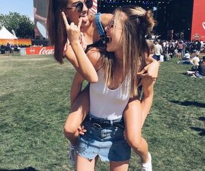 friends, fashion, and best friends image