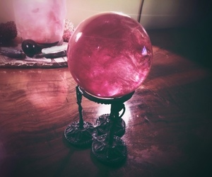 aesthetic, crystal ball, and magic image