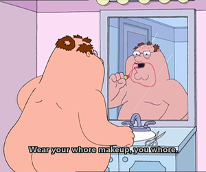 family guy, makeup, and peter image