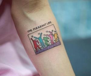 art, colourful, and tattoo image