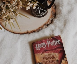 book, harry potter, and read image
