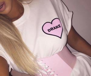 Drake, fashion, and girl image