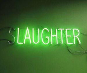 neon, aesthetic, and laughter image