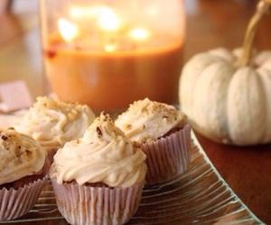 autumn, autumnal, and cupcakes image
