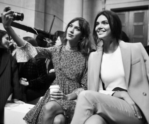 kendall jenner, alexa chung, and fashion image