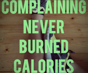 fitness, motivation, and calories image