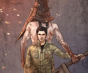 fanart, gaming, and silent hill image
