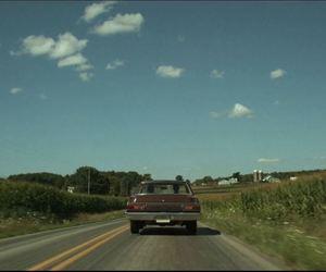 america, car, and escape image