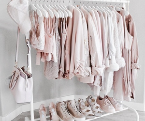 fashion, pink, and clothes image