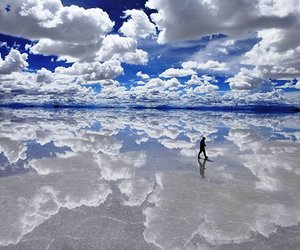 sky, Bolivia, and clouds image