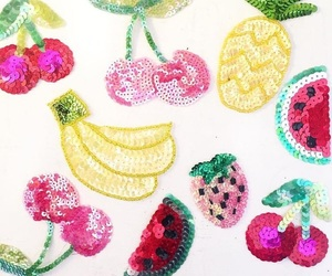 cherry, fruity, and patches image