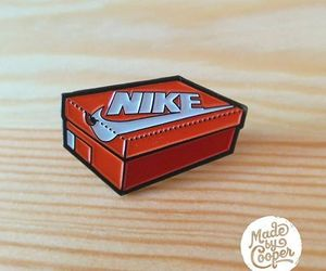nike, patches, and pins image