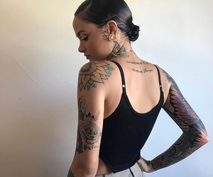 kehlani, Tattoos, and art image
