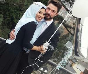 ballon, dress, and mariage image