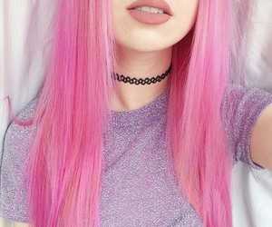 asian, goth, and lips image