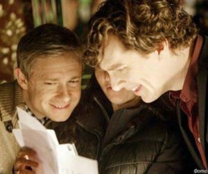 sherlock, bbc, and Martin Freeman image
