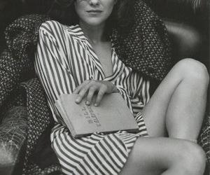 Marion Cotillard, black and white, and actress image