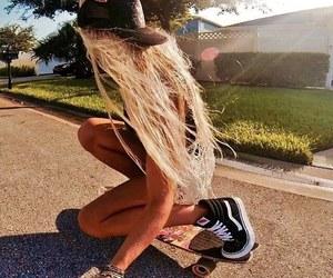 hair, girl, and photo image