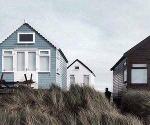 house, girl, and home image