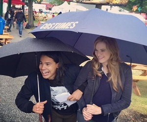 danielle panabaker, the flash, and netflix image
