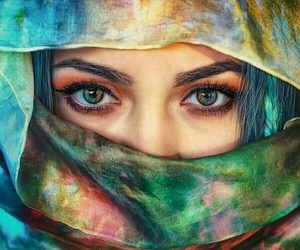 arabian, blue, and colors image