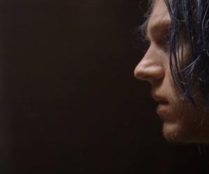 beautiful, blue hair, and evan peters image