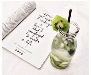 drink, green, and kiwi image
