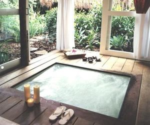 relax, pool, and home image