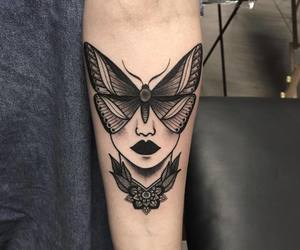 tattoo, art, and black image