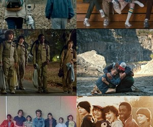 Collage, dustin, and eleven image