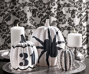black, black and white, and candles image