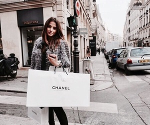 fashion, girl, and chanel image