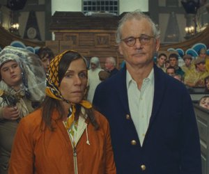 bill murray, wes anderson, and moonrise kingdom image