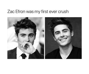 crush, pretty, and zac efron image