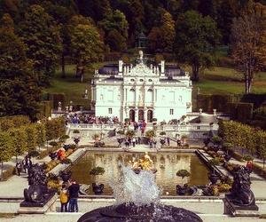 bavaria, castle, and fall image