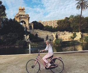 Barcelona, Bike ride, and europe image