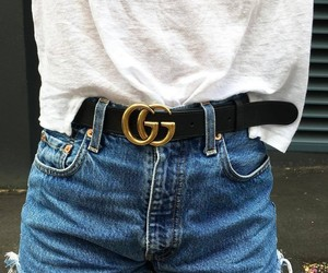 gucci, belt, and fashion image