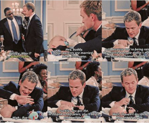 baby, Barney Stinson, and boy image