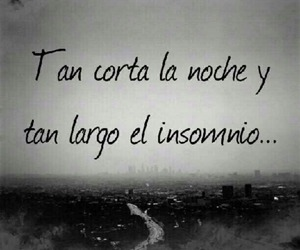 frases, Noche, and insomnio image