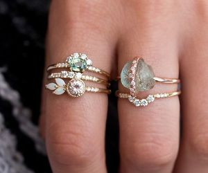 rings, jewels, and ring image