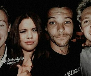 selena gomez and one direction image