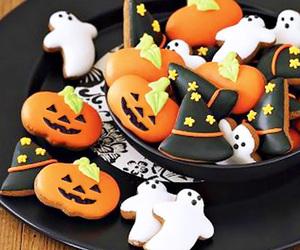 Halloween, Cookies, and autumn image