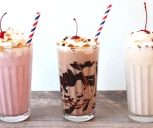 food and milkshake image