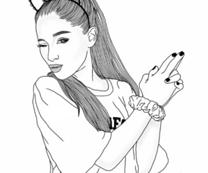 outline and ariana grande image
