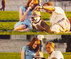 emma stone, ryan gosling, and gangster squad image
