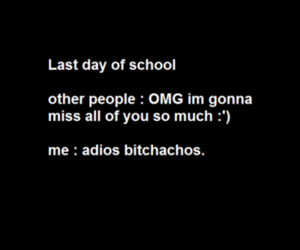 school, bye, and funny image