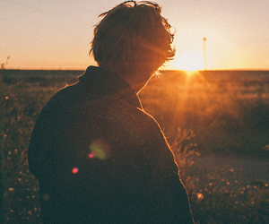 boy, photography, and sun image