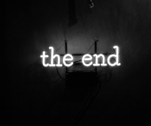 break up, the end, and ended image