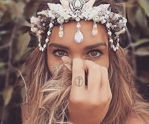 crown, mermaid, and beauty image