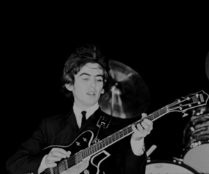1960s, george harrison, and band image